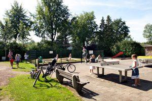 Caravanpark de Hofstee Nunspeet speelplaats