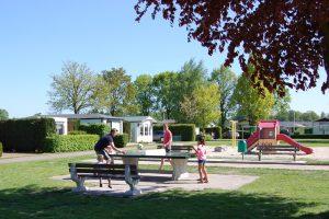 tafeltennistafel caravanpark De Hofstee Nunspeet